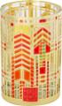 "YTC8792 - 3.25"" Frank Lloyd Wright Autumn Sumac Votive Holder"