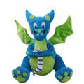 "PT12346 - 12.5"" Blue Dragon Plush"