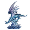 """PT12509 - 16.125"""" Water Dragon"""