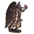 """PT12537 - 10"""" Bronze-finish Archangel Chamuel"""