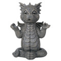 "PT12552 - 10.25"" Meditating Garden Dragon"