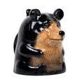 "PT12565 - 4"" Ceramic Bear Topsy Turvy Mug"