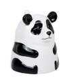 "PT12567 - 4"" Ceramic Panda Topsy Turvy Mug"