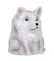"PT12568 - 4"" Ceramic Wolf Topsy Turvy Mug"