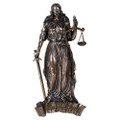 """PT12569 - 11.5"""" Lady Justice Wall Plaque"""
