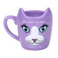 "PT12570 - 4.325"" Ceramic Therapy Cat Mug"