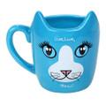 "PT12571 - 4.325"" Ceramic Live Long Cat Mug"
