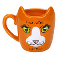 "PT12572 - 4.325"" Ceramic Coffee Cat Mug"