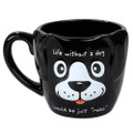 """PT12575 - 4.325"""" Ceramic Life Without Dog Mug"""
