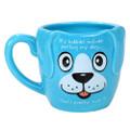 """PT12576 - 4.325"""" Ceramic Hobby Pet Dog Mug"""