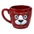 "PT12577 - 4.325"" Ceramic Need Dog Mug"