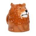 "PT12598 - 4"" Ceramic Lion Topsy Turvy Mug"