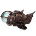 "PT12600 - 4.75"" Steampunk Space Ship w/LED"