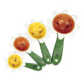 "PT12607 - 5"" Flowers Measuring Spoon Set"