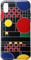 "YTC1816 - 5.58"" high iPhone X Case Frank Lloyd Wright Coonley Playhouse Black"