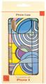 """YTC1819 - 5.58"""" high iPhone X Case Frank Lloyd Wright Max Hoffman Rug"""