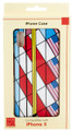 """YTC1820 - 5.58"""" high iPhone X Case Frank Lloyd Wright Liberty Cover Flags"""