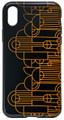"YTC1823 - 5.58"" high iPhone X Case Frank Lloyd Wright Saquaro Forms"