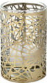 """YTC8806 - 3.25"""" high Tiffany Pine Needle Votive Holder"""