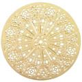 "YTC8808 - 2.75"" diameter Washington Cathedral Rose Window Ornament"