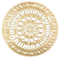 """YTC8809 - 2.75"""" diameter Assisi Cathedral Rose Window Ornament"""