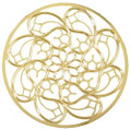 """YTC8810 - 2.75"""" diameter Milan Cathedral Rose Window Ornament"""