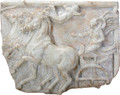 """YTC8814 - 19.5"""" long Victory of the Four Horse Chariot Race"""