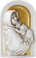 "YTC8824 - 10"" long Madonna and Child Plaque"