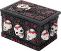 """YTC9197 - 2.25"""" Day of the Dead Trinket Box"""