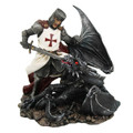 "PT12728 - 7.25"" Crusader Slaying Dragon"