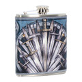 PT12922 - 7 oz Sword Hip Flask