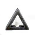 YTC9240 - Frank Lloyd Wright Organic Bud Vase Large Triangle
