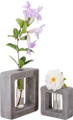 YTC9241 - Frank Lloyd Wright Organic Bud Vase Small Square