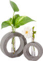 YTC9242 - Frank Lloyd Wright Organic Bud Vase Small Circle