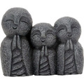 """YTC9077 - 3"""" Jizo Monks"""