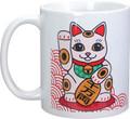 YTC1641 - 11 oz Ceramic Maneki Neko Coffee Mug