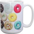 YTC1652 - 15 oz Ceramic Doughnut Coffee Mug