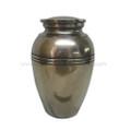 """PTWH24050 - 11.5"""" Eleganza Bronze-finish Resin Urn (200 cubic inch)"""