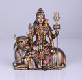 PT13464 - Bronze-finished Lord Shiva