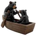 """PT13760 - 4.75"""" Black Bears in Canoe"""