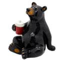"""PT13761 - 5"""" Black Bear with Cooler"""