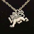 PTJ012 - Lead-free pewter Renaissance Lion Necklace