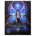 "PT13836 - 7.5""x9.85"" Immortal Flight Canvas Art Frame"