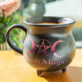 "PT13777 - 5"" Moon Magic Cauldron Mug Bowl"