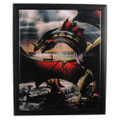 "PT90146 - 9""x11"" Sentinel Dragon Framed Ceramic Tile"