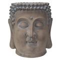 "PT13986 - 17"" Large Buddha Head Planter"