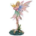 """PT14007 - 6.75"""" Rainbow Lily Fairy"""