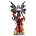 """PT14011 - 24.5"""" Fire Fairy w/Black Dragon (BACK ORDERED/OUT OF STOCK)"""