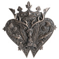 """PT14002 - 1.5"""" Highland Scots Luckenbooth Wall Plaque"""