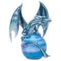 "PT14017 - 8.75"" Planet Mercury Guardian Dragon"